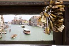 Puente sobre Grand Canal Fotografía de archivo libre de regalías