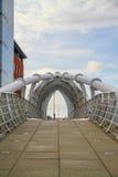 Puente sobre la princesa Dock Imagen de archivo