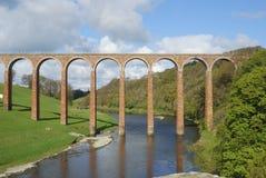 Puente sobre tweed del río hacia Gattonside fotos de archivo libres de regalías