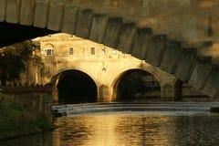 Puente Somerset de Pultney Fotografía de archivo libre de regalías