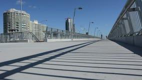Puente Southport Gold Coast Australia de Sundale almacen de metraje de vídeo
