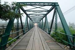 Puente tailandés Imágenes de archivo libres de regalías