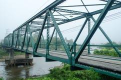 Puente tailandés Foto de archivo libre de regalías
