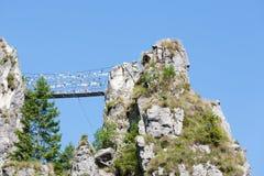 Puente tibetano Imagenes de archivo