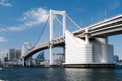 Puente Tokio del arco iris Imagen de archivo