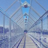 Puente triangular imágenes de archivo libres de regalías