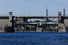 Puente triple Imagenes de archivo