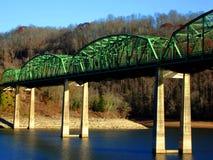 Puente verde Fotos de archivo
