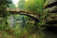 Puente viejo Fotografía de archivo libre de regalías