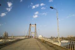 Puente viejo abandonado Foto de archivo libre de regalías