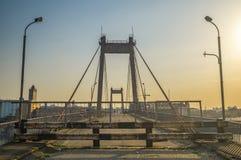 Puente viejo abandonado Imagen de archivo