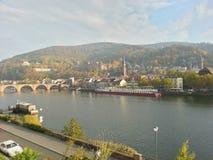 Puente viejo de Heidelberg imagen de archivo