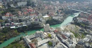 Puente viejo de Mostar Imagen de archivo libre de regalías