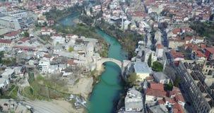 Puente viejo de Mostar Fotografía de archivo