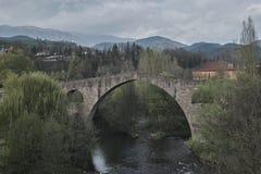 Puente viejo de Pont Vell Fotos de archivo libres de regalías