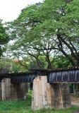 Puente viejo del metal Foto de archivo