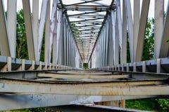 Puente viejo del metal Imagen de archivo