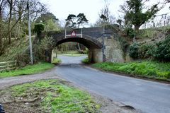 Puente viejo en Bedfordshire Fotos de archivo libres de regalías
