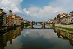 Puente viejo en Florencia Foto de archivo libre de regalías