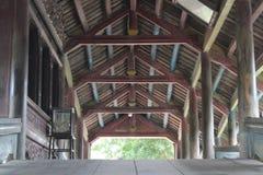Puente viejo en Vietnam Fotos de archivo libres de regalías
