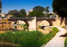 Puente Viejo   i Murcia Royaltyfria Foton