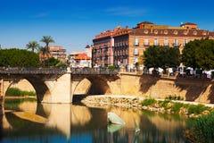 Puente Viejo i Murcia, Spanien Royaltyfri Foto