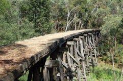 Puente viejo - Koetong Fotografía de archivo