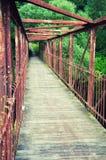 Puente visto del interior Imagen de archivo libre de regalías