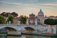Puente Vittorio Emanuele II Foto de archivo