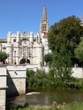 Puente y Arco de Santa Maria, Burgos (Spain ) Royalty Free Stock Photography