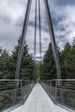 Puente y cielo Fotos de archivo libres de regalías
