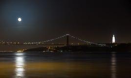 Puente y Cristo Foto de archivo libre de regalías