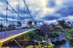 Puente y pabellón de la nube de Yongyeon fotos de archivo libres de regalías
