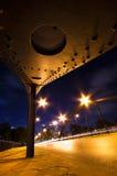 Puente y tráfico Imagenes de archivo