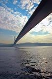 Puentear los continentes Imagen de archivo libre de regalías
