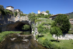 Puentedey, Burgos Stock Photo