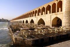 Puentee el Si-o-Seh Imagenes de archivo