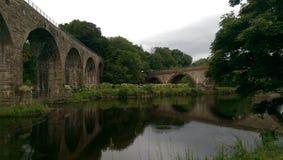 2 puentes Foto de archivo libre de regalías