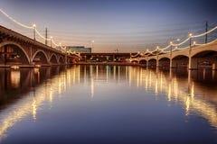 Puentes concretos Foto de archivo libre de regalías