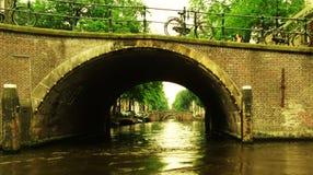 Puentes de Amsterdam fotos de archivo libres de regalías