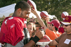 Puentes de Jeremy de los cardenales del NFL Arizona Foto de archivo
