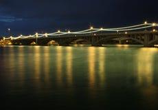 Puentes de la avenida del molino Foto de archivo libre de regalías