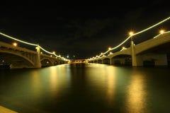 Puentes de la avenida del molino Imagen de archivo libre de regalías