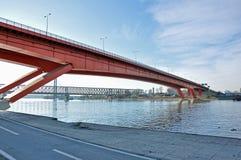 Puentes de la ciudad foto de archivo libre de regalías