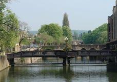 Puentes de Metz foto de archivo