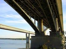 Puentes de Novosibirsk Foto de archivo