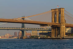 Puentes de Nueva York Foto de archivo libre de regalías