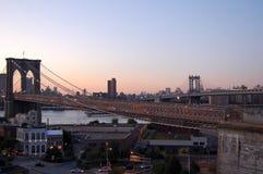 Puentes de Nueva York Fotografía de archivo libre de regalías