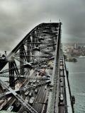 Puentes de Sidney foto de archivo libre de regalías