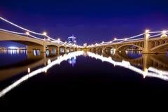 Puentes de Tempe Foto de archivo libre de regalías